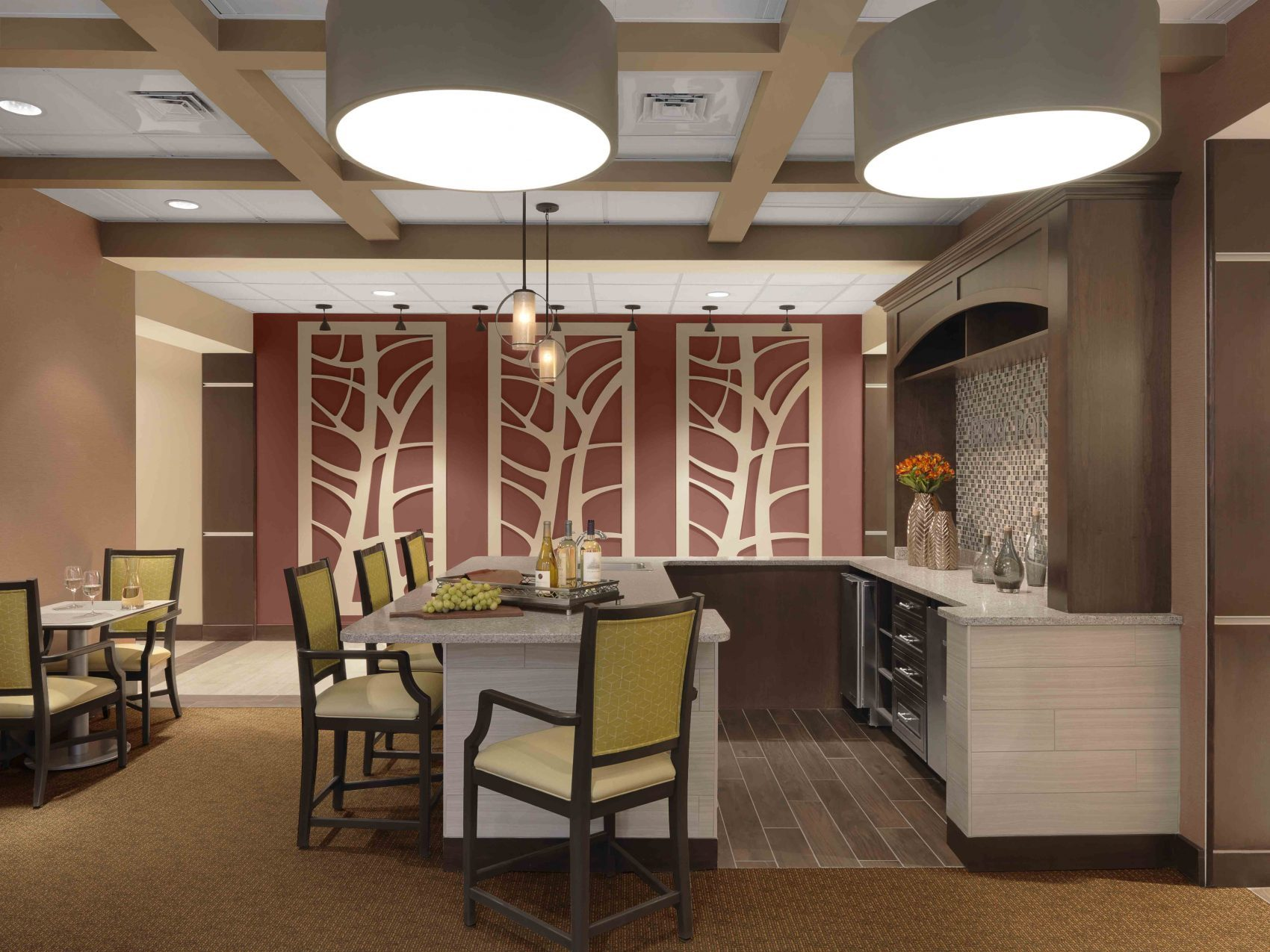 Senior Living Interior Design Furniture Procurement Art Pub
