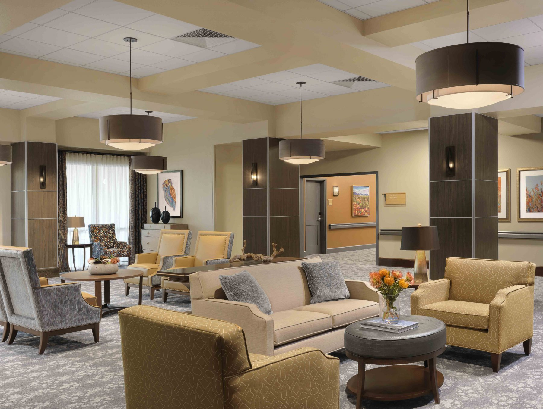 Senior Living Interior Design Furniture Procurement Art