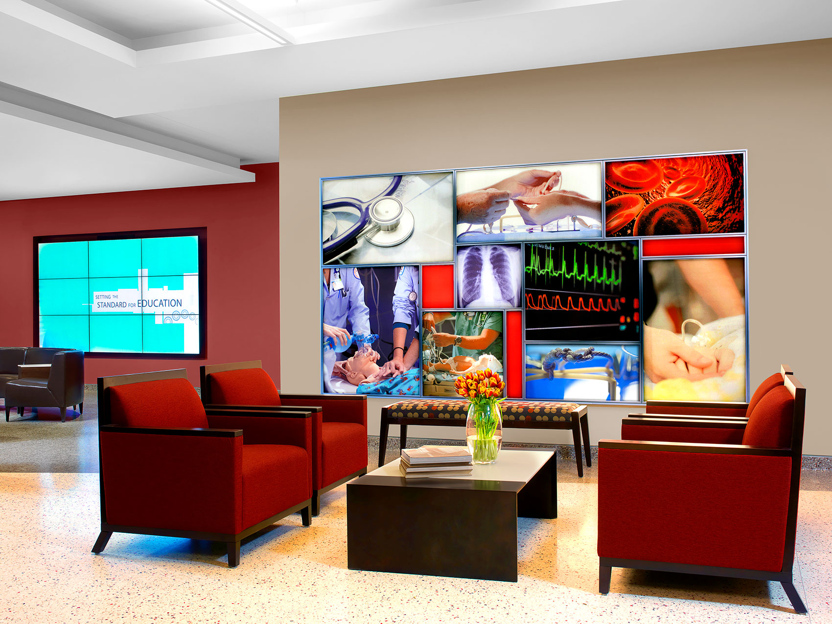 Healthcare Interior Design Furniture Procurement Art Graphics