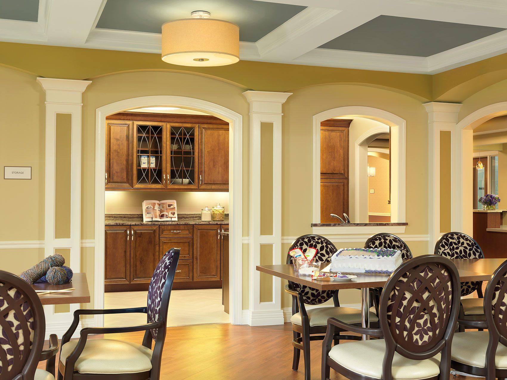 Senior Living Interior Design Furniture Procurement