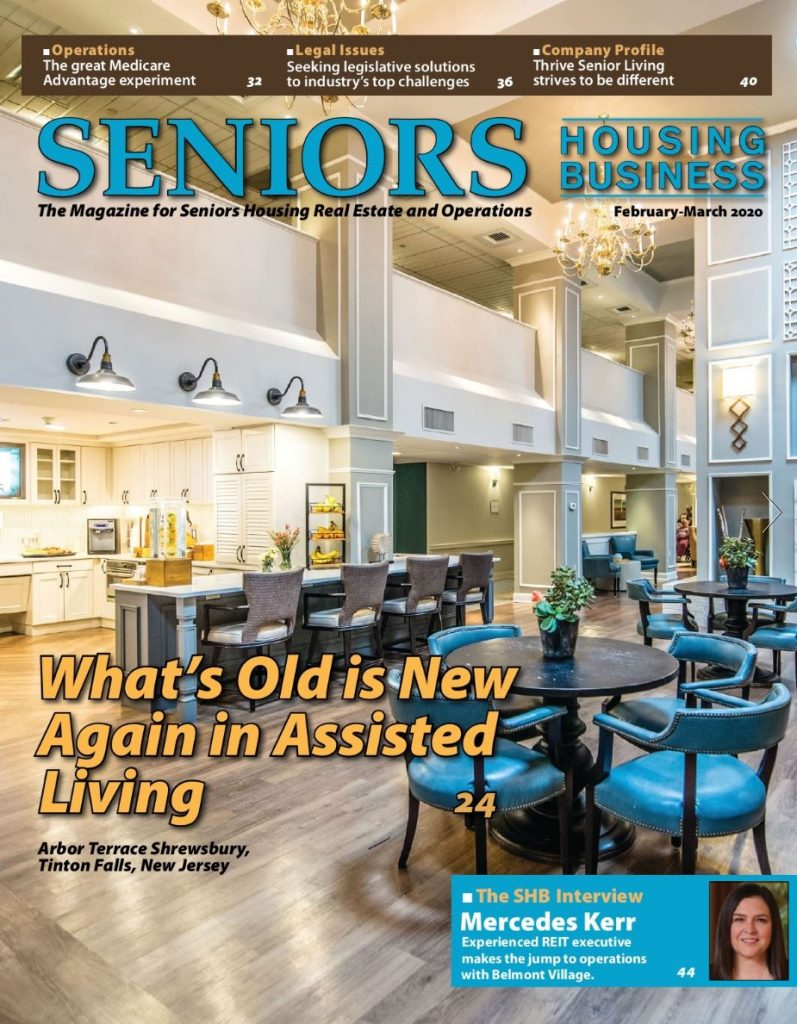 Senior Housing Business - What's Old is New Again Feb March 2020